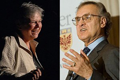 Michele Landsberg and Stephen Lewis